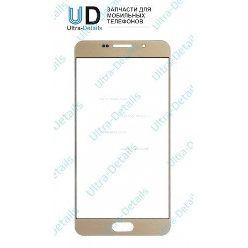 Стекло для Samsung A710F (золотой)