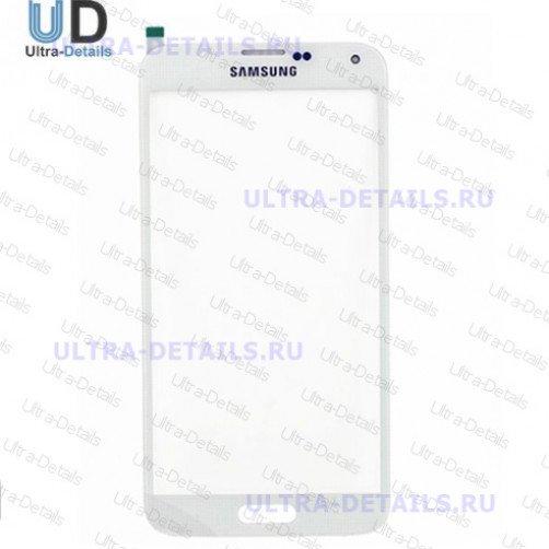 Стекло для Samsung G900F (S5) (белый)