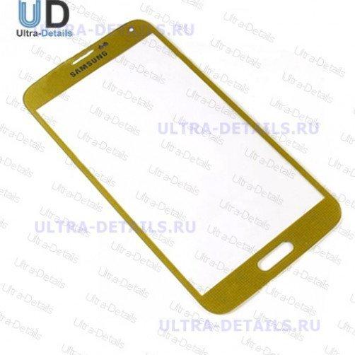 Стекло для Samsung G900F (S5) (золотой)