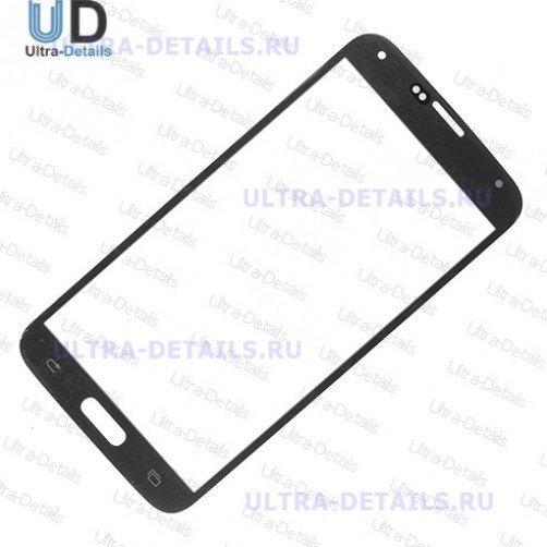 Стекло для Samsung G900F (S5) (черный)