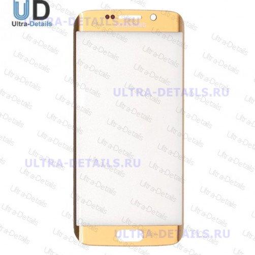 Стекло для Samsung G925F (S6 Edge) (золотой)