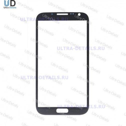 Стекло для Samsung N7100 (Note 2) (черный)