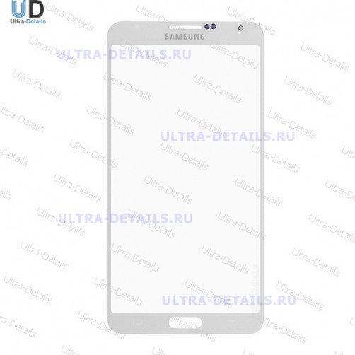 Стекло для Samsung N9000, N9005 (Note 3) (белый)