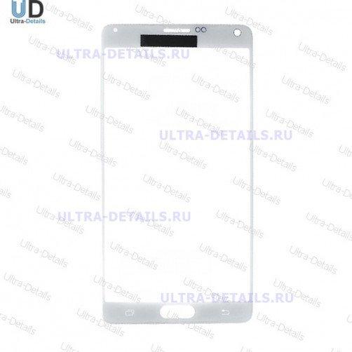 Стекло для Samsung N910C (Note4) (белый)