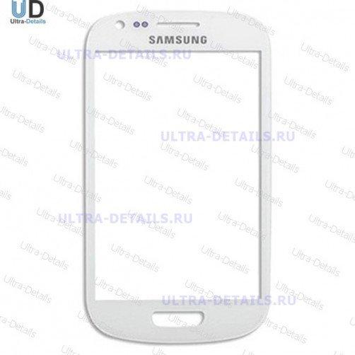 Стекло для Samsung S3 mini (белый)
