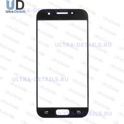 Защитное стекло для Samsung A320 черный