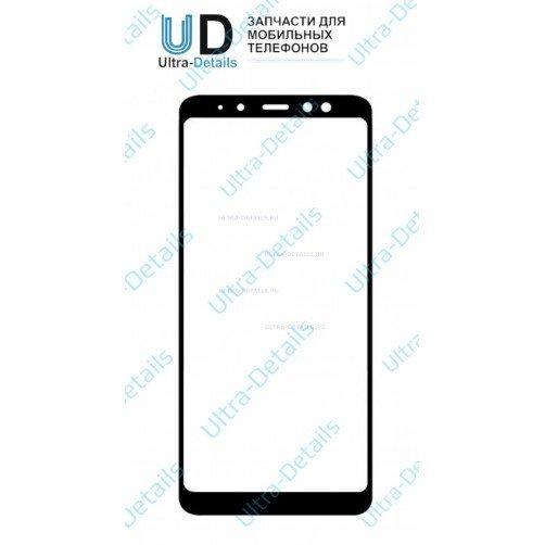 Защитное стекло для Samsung A530F (A8 2018) черный