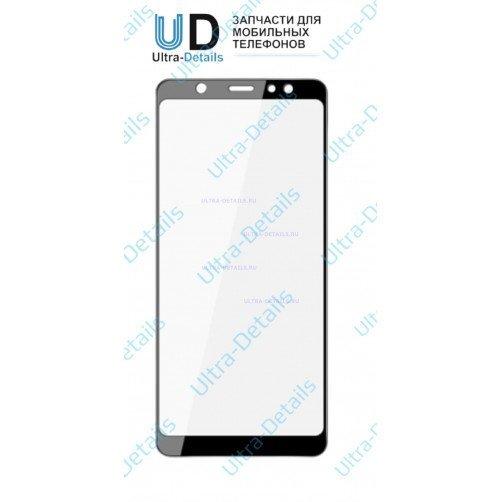 Защитное стекло для Samsung A6 (2018) черный