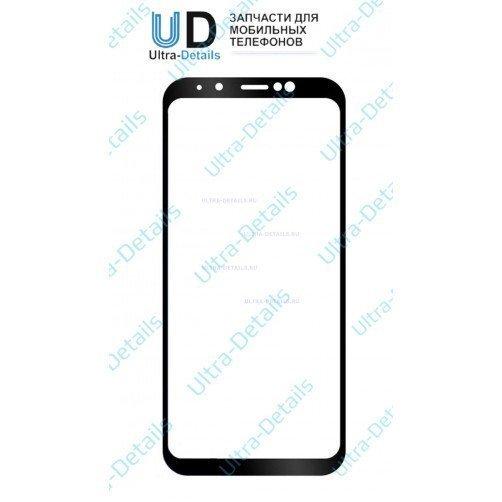 Защитное стекло для Samsung A6+ (2018) черный