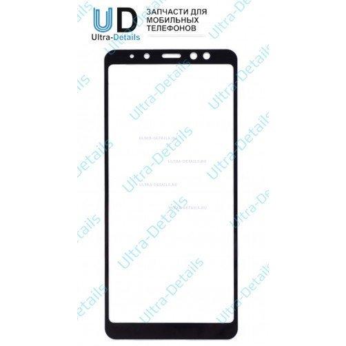 Защитное стекло для Samsung A730F (A8+ 2018) черный