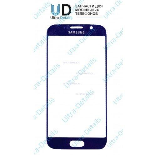 Защитное стекло для Samsung G920F, G920FD (S6, S6 Duos) (синий) Оригинал