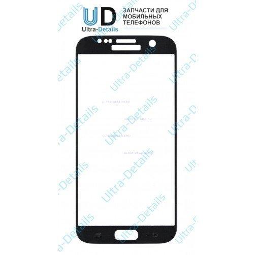 Защитное стекло для Samsung G925F (S6 Edge) (черный)
