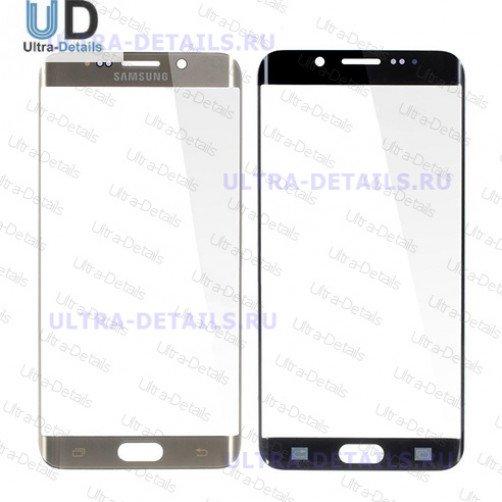 Защитное стекло для Samsung G928F (S6 Edge+) (золотой)