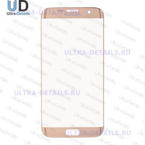 Защитное стекло для Samsung G935F (S7 Edge) (золотой) Оригинал