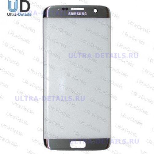 Защитное стекло для Samsung G935F (S7 Edge) (серебро)