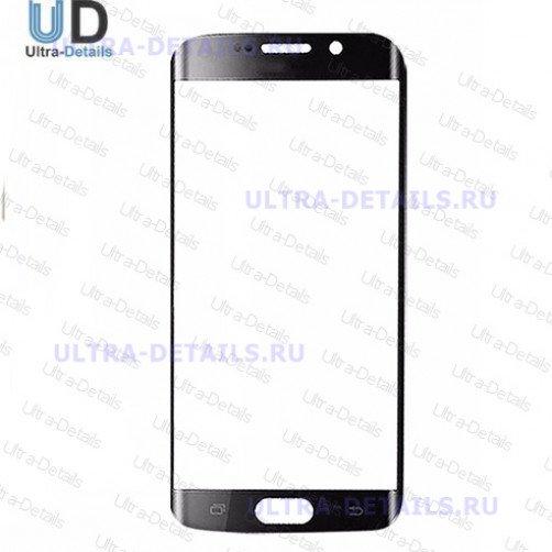 Защитное стекло для Samsung G935F (S7 Edge) (черный) Оригинал