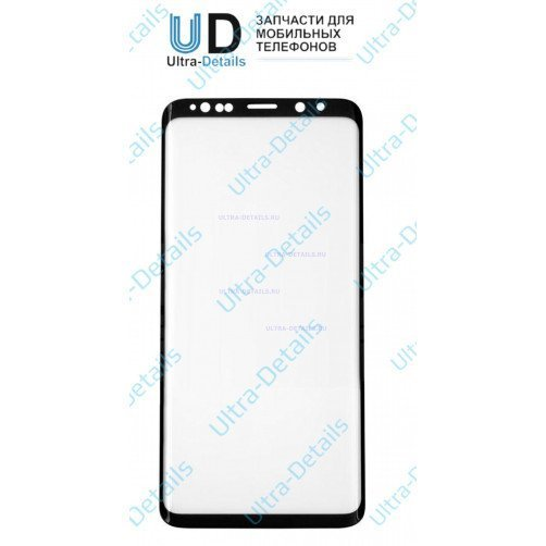 Защитное стекло для Samsung G965 (S9+) черный