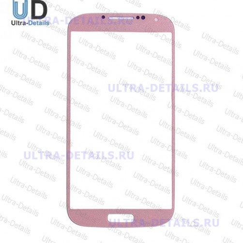 Защитное стекло для Samsung i9500, i9505 (S4) (розовый)