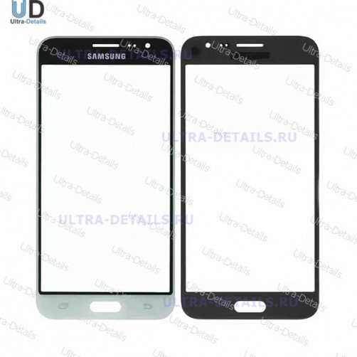 Защитное стекло для Samsung J320 белый