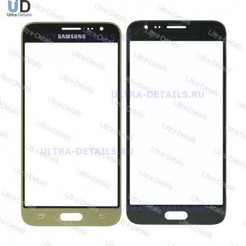 Защитное стекло для Samsung J320 золото