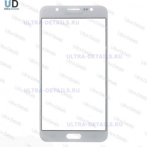Защитное стекло для Samsung J710 белый
