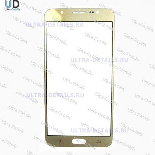 Защитное стекло для Samsung J710 золотой