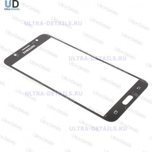 Защитное стекло для Samsung J710 черный
