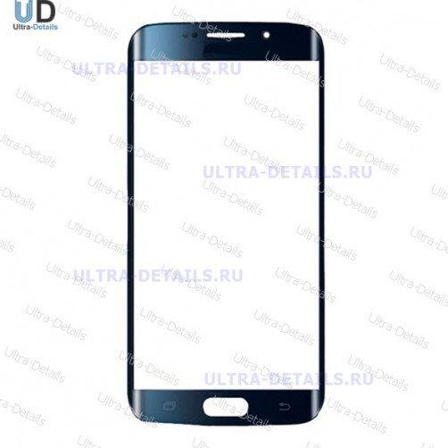 Защитное стекло для Samsung S6 edge (G925) (синий)