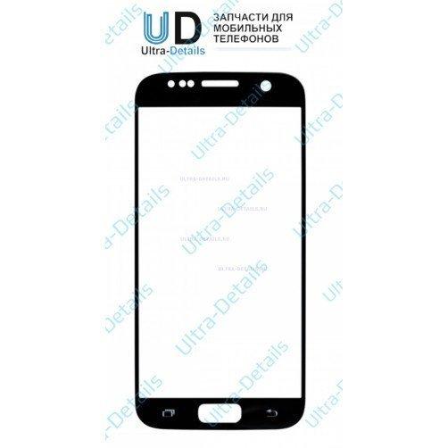 Защитное стекло для Samsung S7 (G930) черный Оригинал