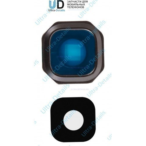 Стекло камеры для Samsung A310, A510, A710 черный