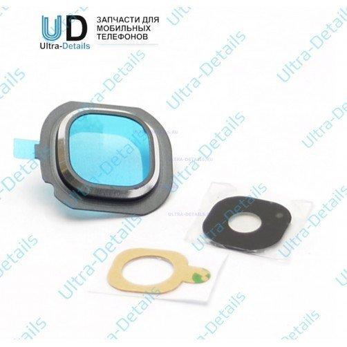Стекло камеры для Samsung J710 черный