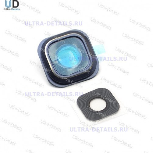 Стекло камеры для Samsung Note 5 (синий)