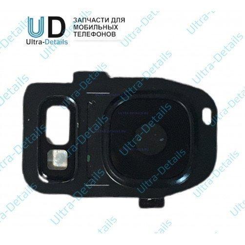 Стекло камеры для Samsung S7 (синий)