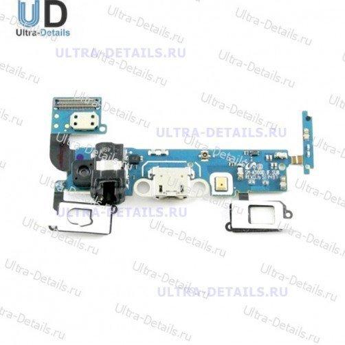 Шлейф для Samsung A500F плата системный разъем, разъем гарнитуры, микрофон
