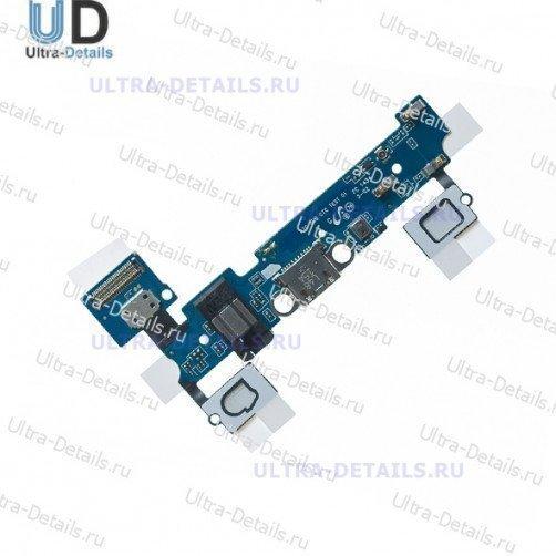 Шлейф для Samsung A700FD плата системный разъем, разъем гарнитуры, микрофон