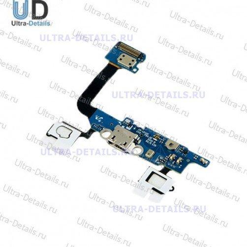 Шлейф для Samsung G850F (Alpha) плата системный разъем, микрофон, HOME***