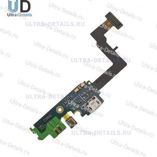 Шлейф для Samsung i9100 (SII) на системный разъем, микрофон