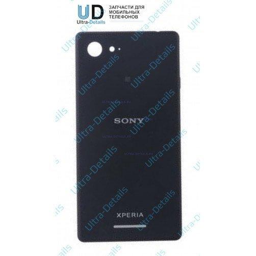 Задняя крышка для Sony D2203, D2212 (E3, E3 Dual) Черный