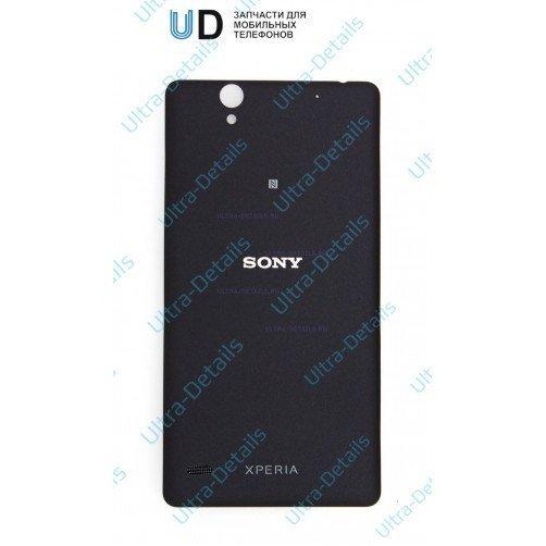 Задняя крышка для Sony D5303, D5322 (T2 Ultra, T2 Ultra Dual) Черный