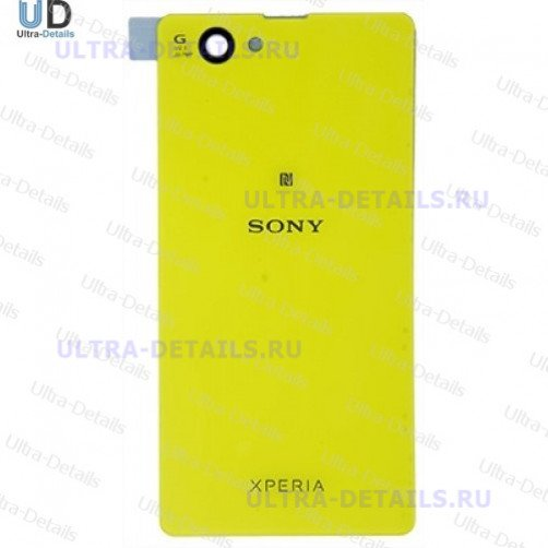 Задняя крышка для Sony D5503 (Z1 Compact) (желтый)