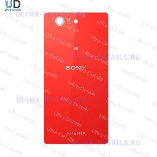 Задняя крышка для Sony D5803 (Z3 Compact) (красный)