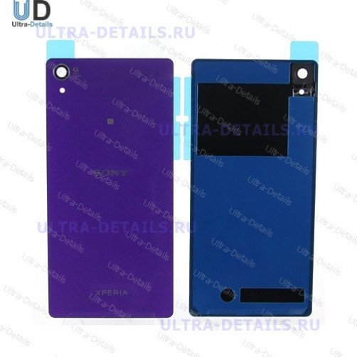 Задняя крышка для Sony D6503 (Z2) (фиолетовый)