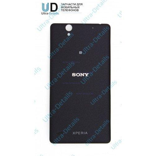 Задняя крышка для Sony E5303, E5333 (C4, C4 Dual) Черный
