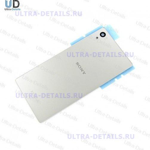 Задняя крышка для Sony E6653 (Z5) (серебро)