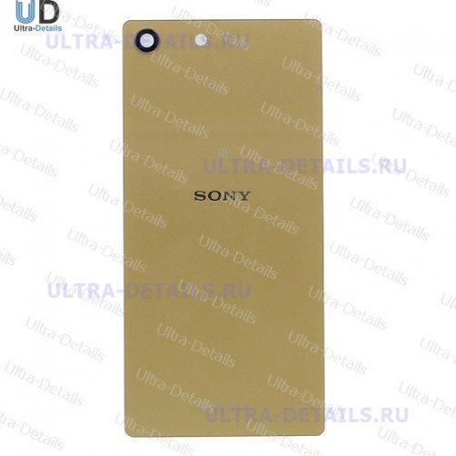 Задняя крышка для Sony M5 золотой