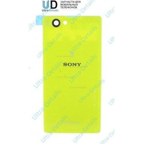 Задняя крышка для Sony Z1 compact зеленый