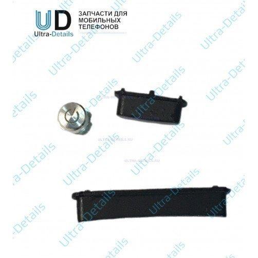 Комплект кнопок для Sony C6903 (Z1) (черный)