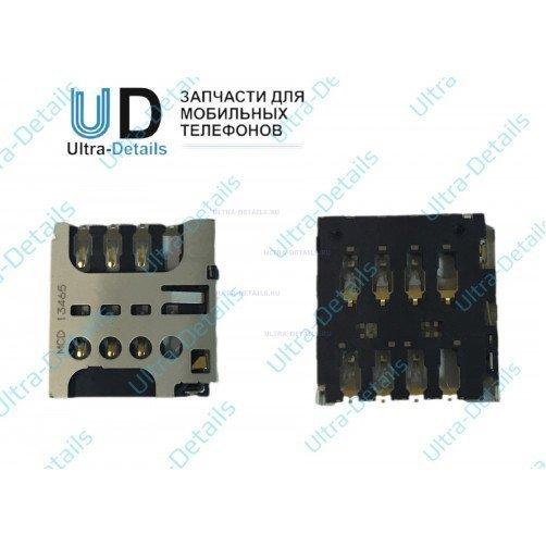 Коннектор SIM для Sony C2305 (C)