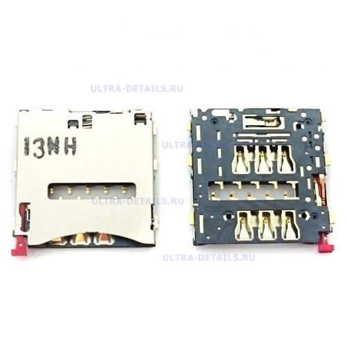 Коннектор SIM для Sony C6903, D6503, D5303, C6833, D5503 (Z1, Z2, T2, Z Ultra, Z1 Compact)