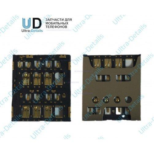 Коннектор SIM для Sony SP(C5302)